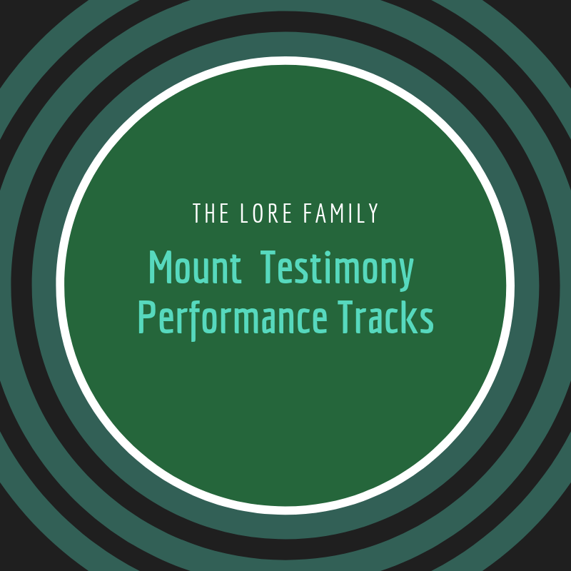 Performance Track (Mount Testimony Project)